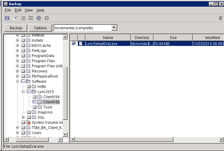 TSM 6 3: Setup Storage Pool Space And Run The First Backup
