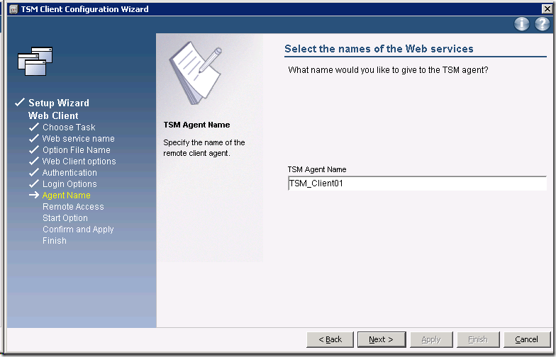 TSM 6 3: Install Backup-Archive Client – Jackie Chen's IT Workshop