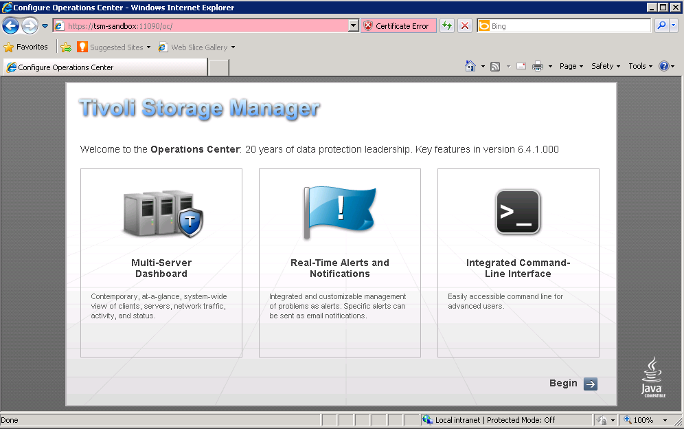 Install and Configure TSM Operation Center 6 4 1 – Jackie Chen's IT